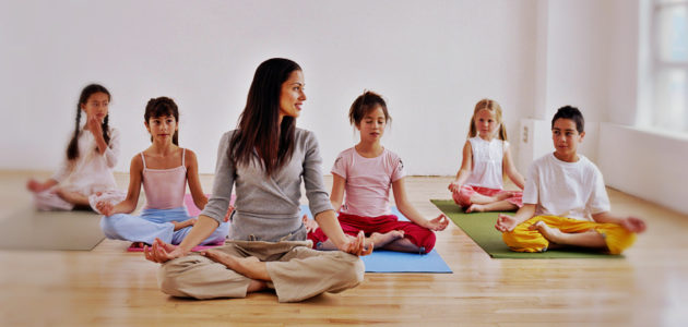 Йога для детей 8-14 лет