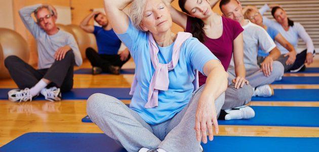 Йога для суставов и  спины