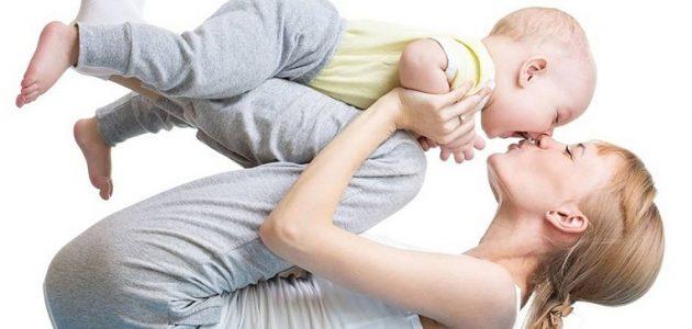 Йога для мам с малышами от 1 года