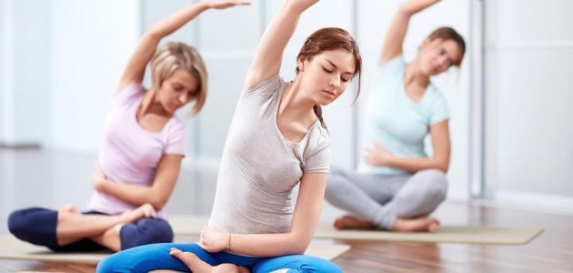 Кардио йога+стрейчинг
